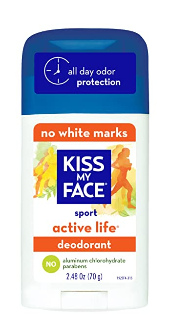 Amazon.com : Kiss My Face Deodorant Stick Active Life Sport 2.48 ...