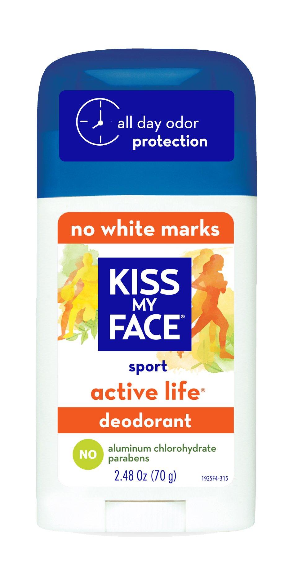 Kiss My Face Deodorant Stick Active Life Sport 2.48 Ounce