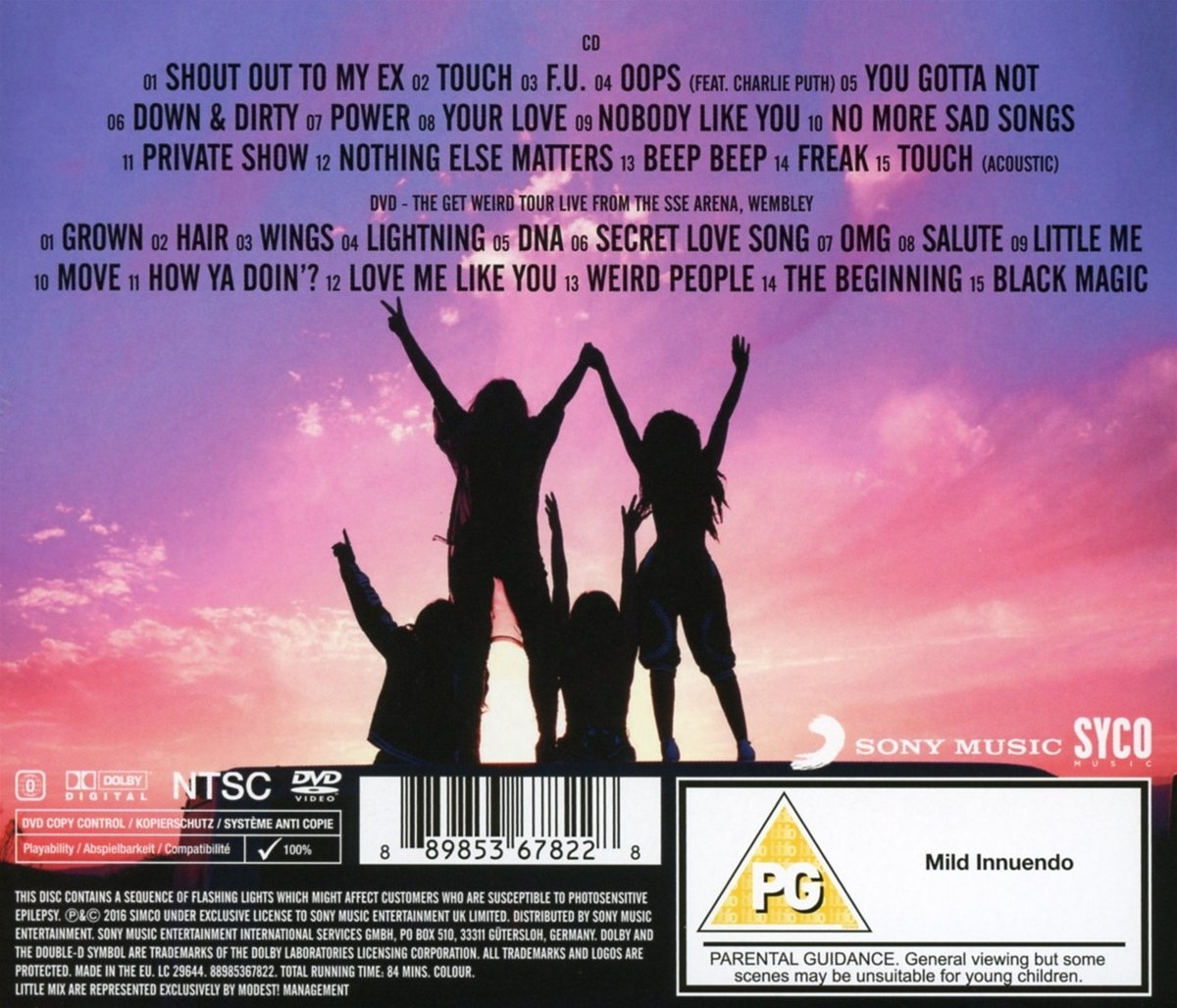 Little Mix - Glory Days: The Platinum Edition - (CD + DVD Video)