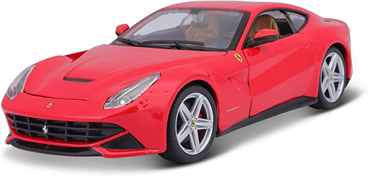 Bburago 26007r Ferrari F12 Berlinetta Sortiment Von Roten Und Gelben Amazon De Spielzeug