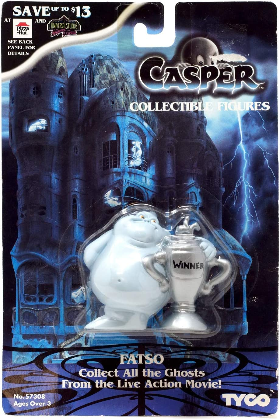 Fatso, the Ghost Collectible Figure - 1995 Casper the Movie Series by Tyco: Amazon.es: Juguetes y juegos