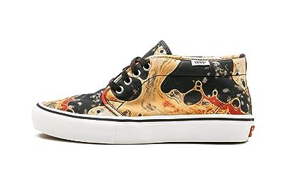 f1c4a1a119d Amazon.com  Vans Chukka Pro -US 10.5 Black White  Shoes