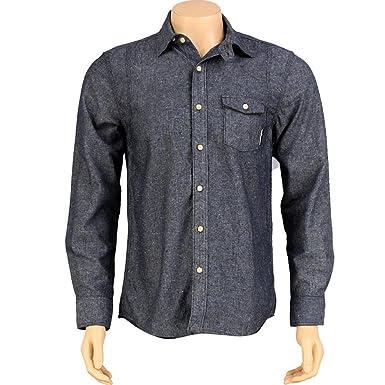 blue The Hundreds Compass Long Sleeve Shirt
