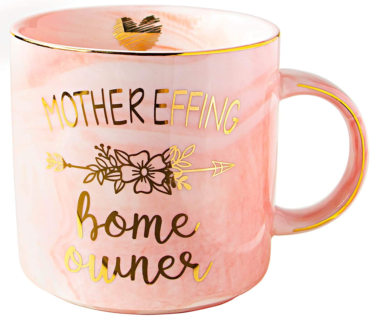 Funny House Warming 11oz Novelty Gift Idea Cup For Women Mother Effin Homeowner Coffee Mug Friend Home Decor Men MyCozyCups New Homeowner Gifts Decoration New First Time Home Owner Present