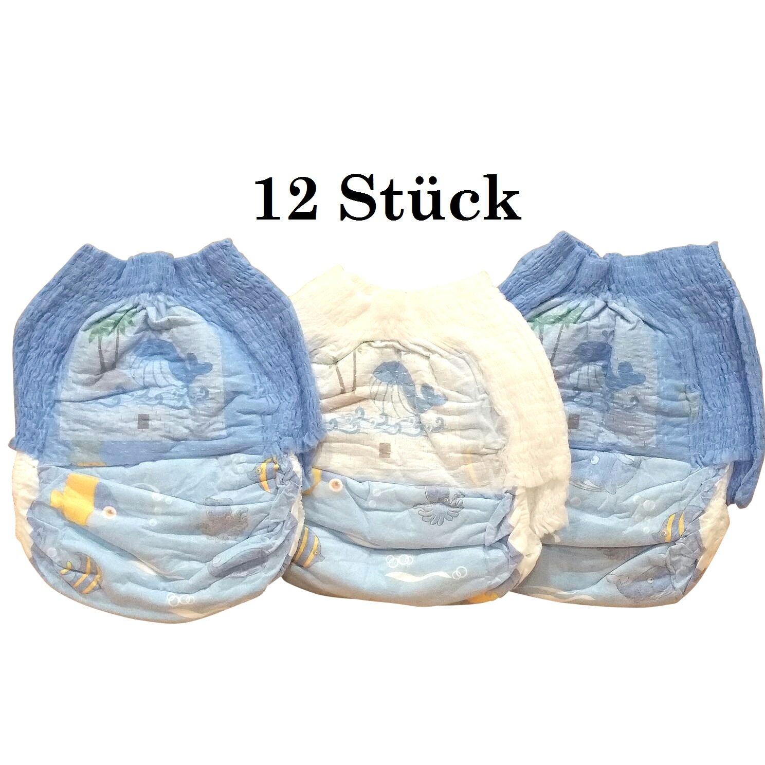 Schwimmwindel Schwimmhöschen Badewindeln Baby Einweg Schwimmwindeln Junge Mädchen HilKeys12-48 Stück (XL (11-16kg), 24 Stück) 24 Stück)
