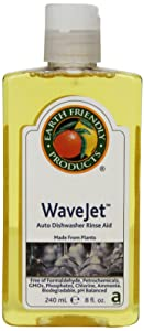 Earth Friendly Products Wave Jet Rinse Aid, 8-Ounce Bottle (Pack of 12)