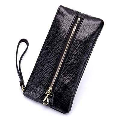 cheaper 0bc9b 2fd18 Women's Wristlet Key Holder Wallet Clutch Case for iPhone 7 6S 6 SE,  Welegant Multi-Purpose Zipper Purse Pouch Handbag with Key Ring Hooks and  Hand ...