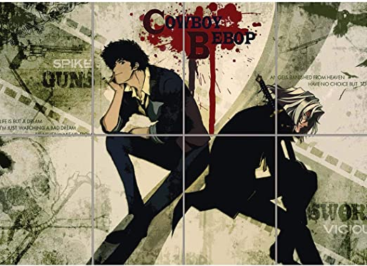 Cowboy Bebop Anime Canvas Print 20*30 Inch HUGE !
