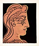 1963 Lithograph Pablo Picasso Female Head Profile