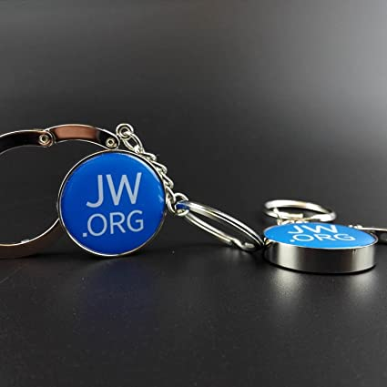 JWORG Imprinted Handbag Purse Caddy Hook Folding Table Desk Hanger Holder Key Chain