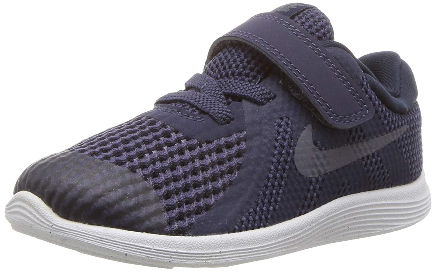 6659ae8008 Amazon.com | Nike Boys' Revolution 4 (TDV) Running Shoe, Neutral  Indigo/Light Carbon - Obsidian, 5C Regular US Toddler | Shoes