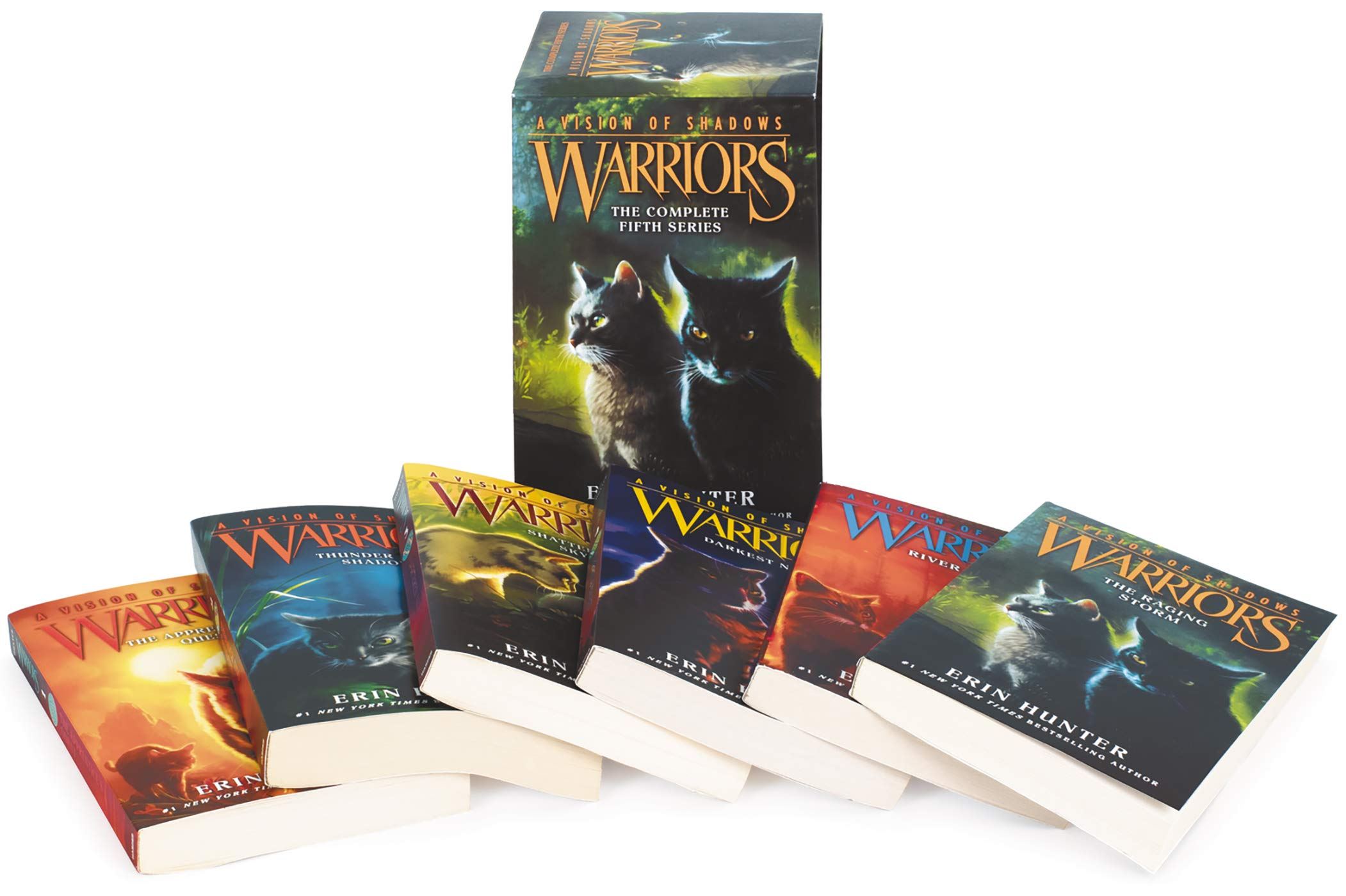 Warriors: A Vision of Shadows Box Set: Volumes 1 to 6 by HarperCollins