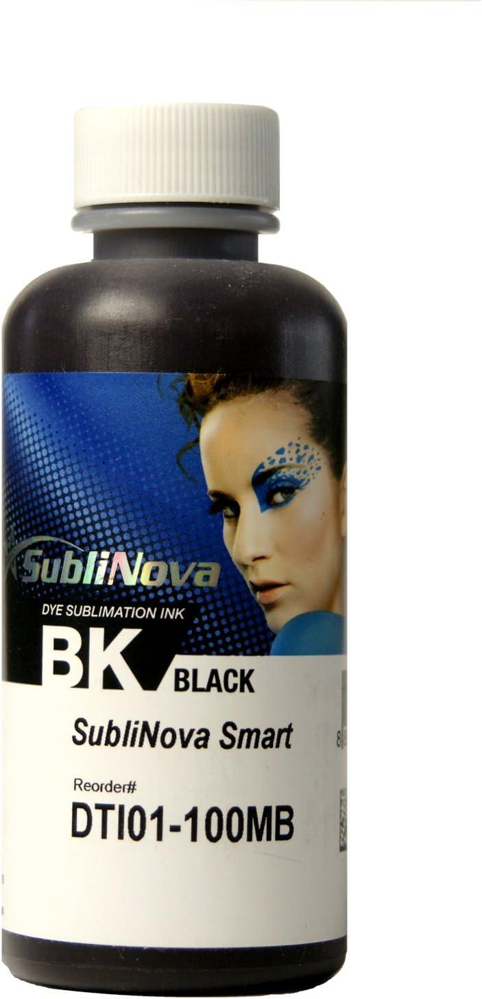 InkTec 100ml de Tinta de SUBLIMACION Negro, SubliNova Smart by: Amazon.es: Electrónica