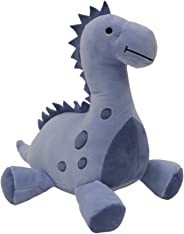 Bedtime Originals Roar Dinosaur Plush Rex, Blue