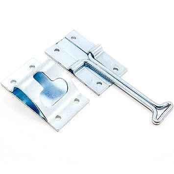 4\u0026quot; Inch Metal T-Style Door Holder Entry Door Catch fits RV Trailer C&er  sc 1 st  Amazon.com & Amazon.com: 4\