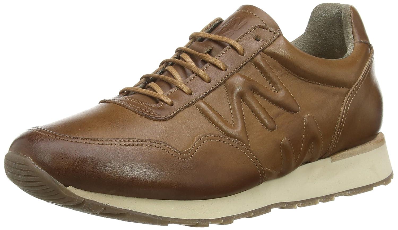 Modello Gozo - 41 EU - Cuero Italiano Hecho A Mano Hombre Piel Marrón Zapatos Vestir Oxfords - Cuero Cuero Repujado - Encaje tViIz4Q