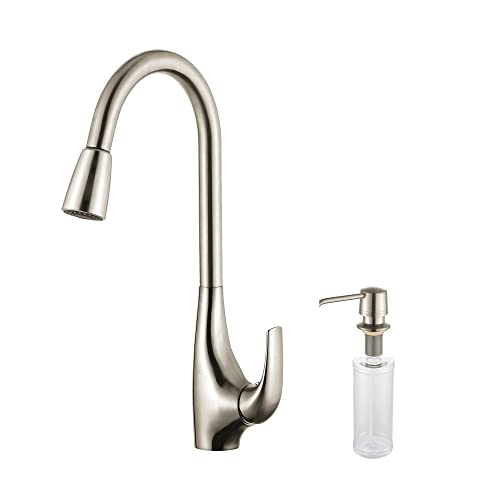 Kraus KPF-1621-KSD-30SS Single Lever Pull Down Kitchen Faucet