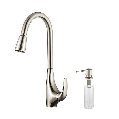 Kraus KPF-1621-KSD-30SS Single Lever Pull Down Kitchen Faucet