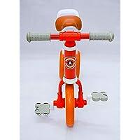 Go Activ Big Balance Bike with EVA Wheels for Kids Age 2-4 Years/Bikes for Kids/Kids Bike for Boys (Red)