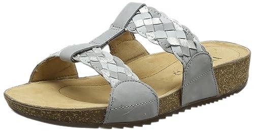 dc48268b5f Hotter Women's Escape Flip Flops, (Pebble Grey Multi), 7 UK 41 EU