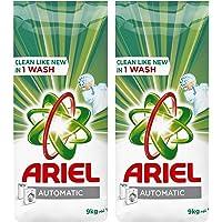 Ariel Green Automatic Detergent Powder, 2 x 9kg