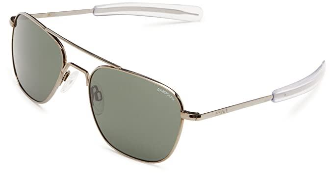 3eb7cc45ec Amazon.com  Randolph Aviator Square Sunglasses