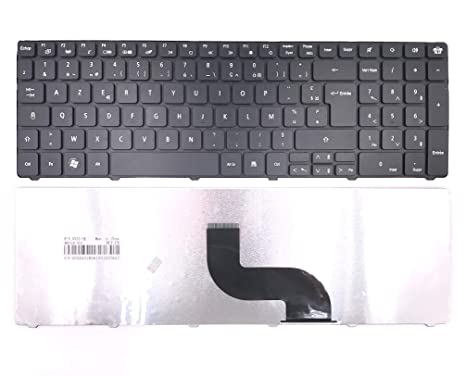Teclado Azerty Francés Packard Bell EasyNote PEW91 PEW96 LM Model MS2290 MS2291