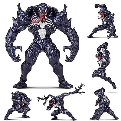 MA SOSER Figura de acción del Veneno de 7 Pulgadas, PVC Venom Toys, Altura de Aproximadamente 18 cm, articulaciones Pueden Estar activas, Pueden Hacer Diferentes Formas: Juguetes y juegos