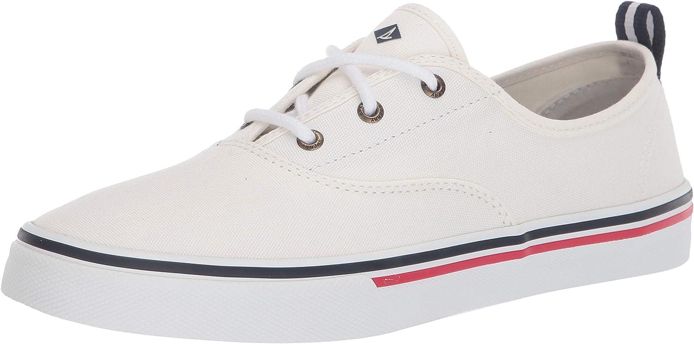 Genuine Free Shipping Sperry Women's Crest Popular brand CVO Canvas Sneaker