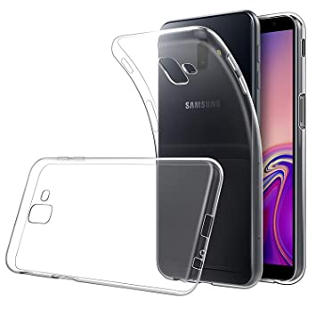 Simpeak Funda Compatible Samsung Galaxy J6 Plus (6.0 Pulgadas), Funda Transparente Samsung Galaxy J6 Plus Carcasa Samsung Galaxy J6 Plus Pro Gel ...