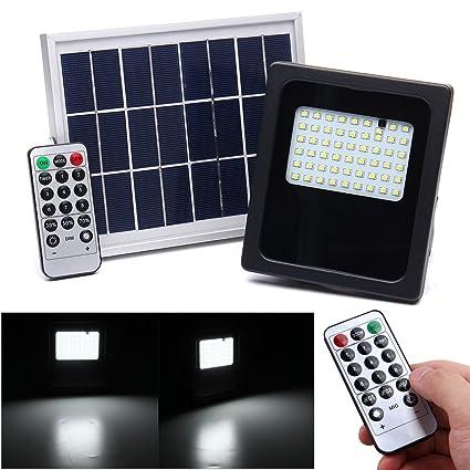 LaDicha 6V 3W 54 Led Luces Solares Inundación Linterna Sensor De Movimiento Al Aire Libre Jardín