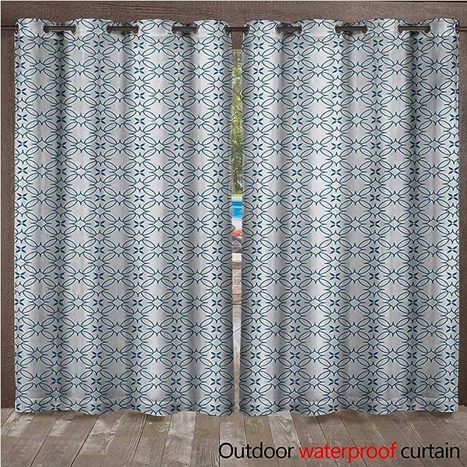 BlountDecor Cortina geométrica para Interiores y Exteriores ...