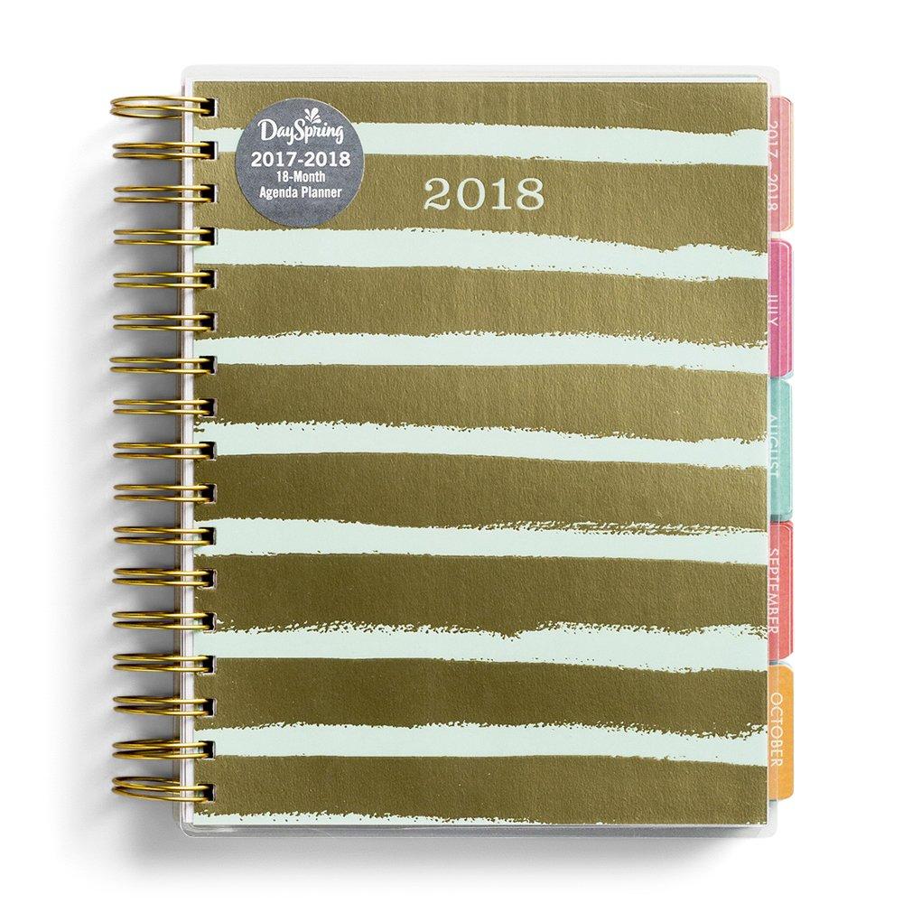 DaySpring - Calendario inspirador con diseño de rayas ...