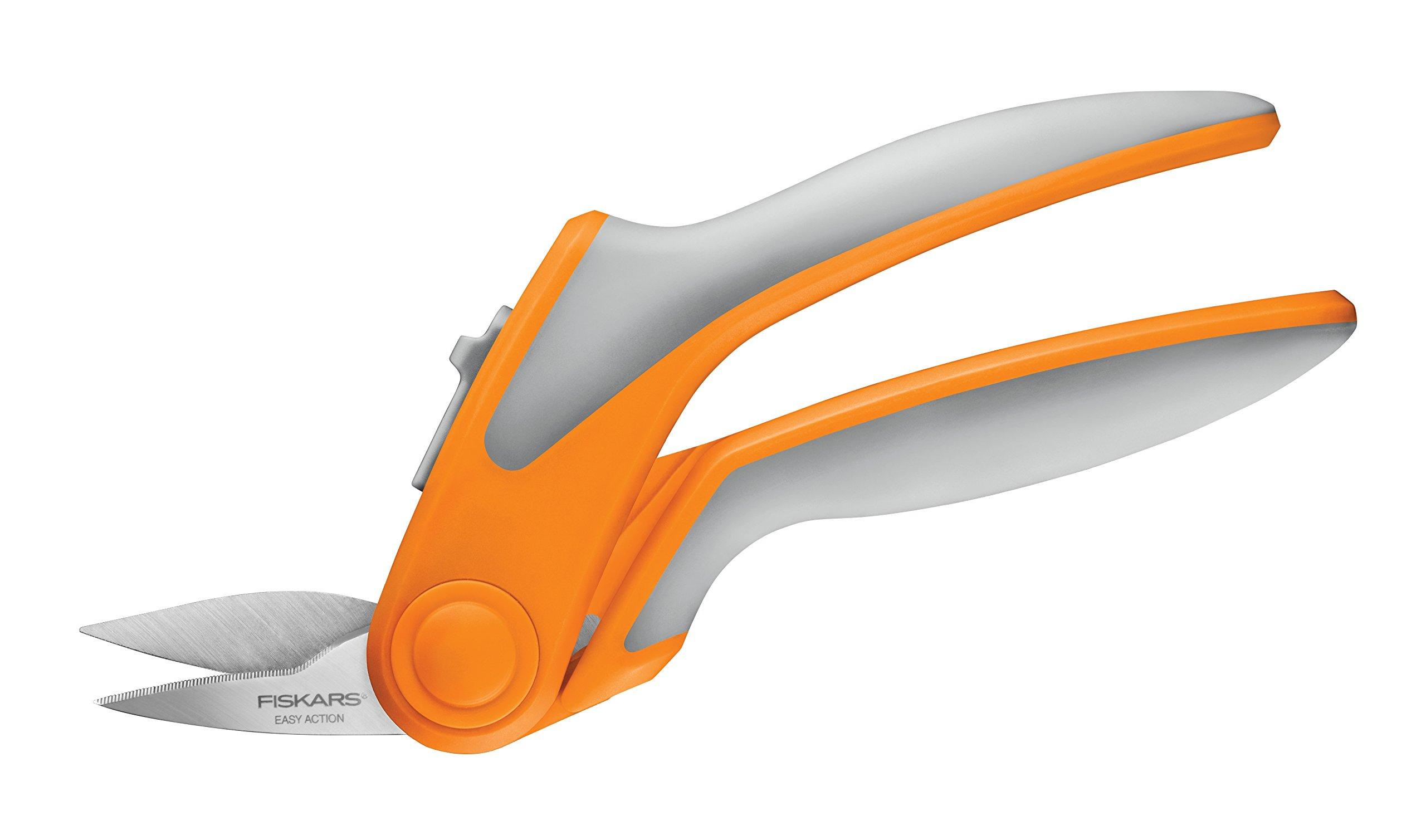 Fiskars 8.5 Inch Softouch Spring Action Rag Quilter Snip by Fiskars