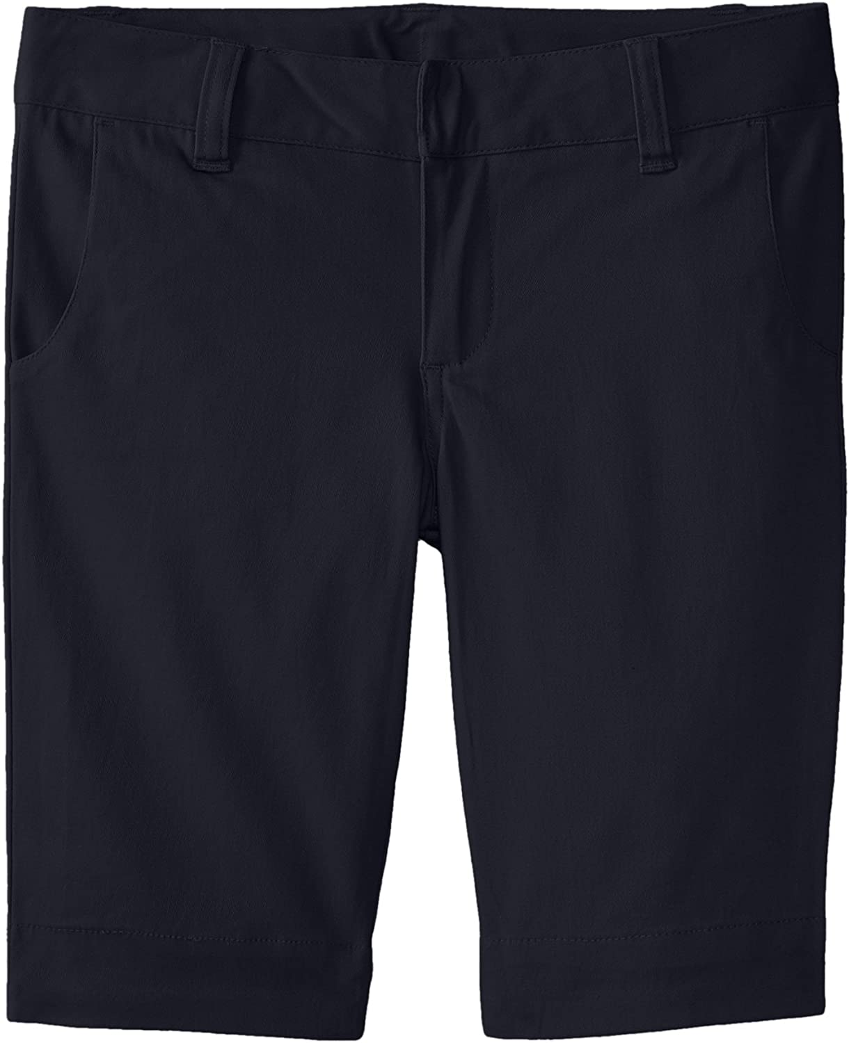 Lee Uniforms Little Girls  Stretch Twill Bermuda Short