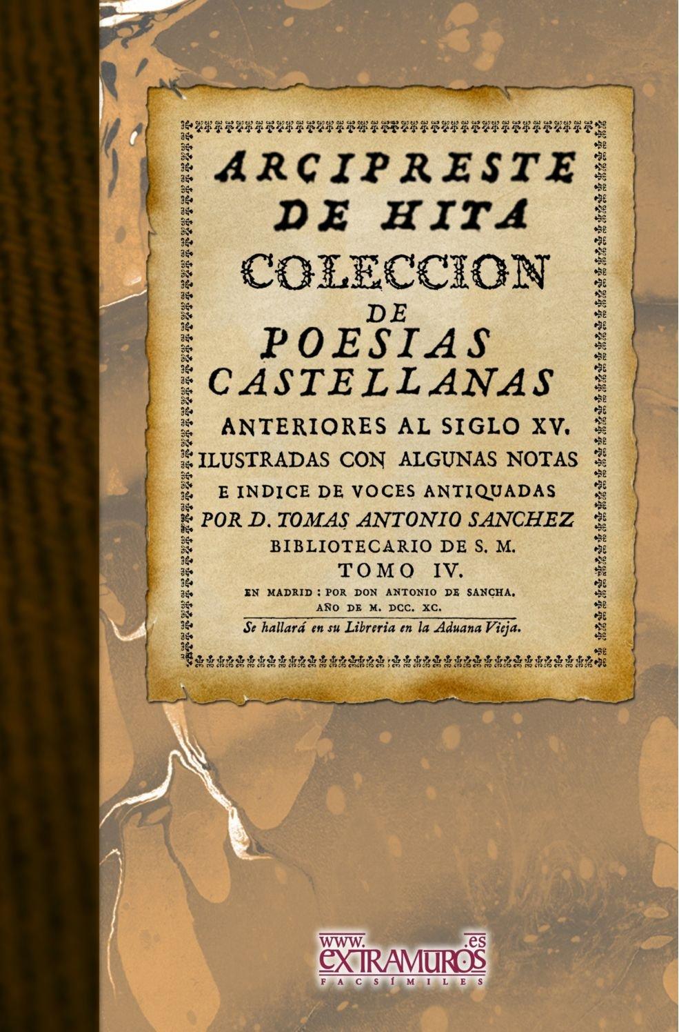 Download Colección De Poesías Castellanas Anteriores Al Siglo Xv (Spanish Edition) PDF