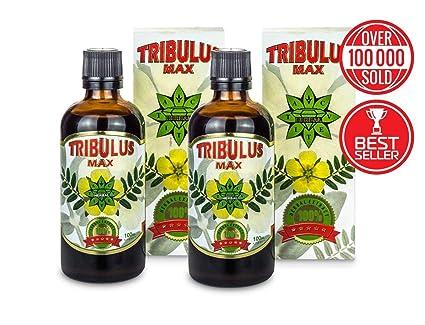 Tribulus Max búlgaro - 2 x 100 ml Extracto de suero - Original Tribulus Terrestris,