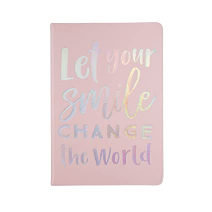 Amazoncom Let Your Smile Change The World Writing Journal And