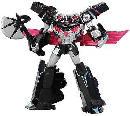 amazon com transformers adventure tav56 nemesis prime toys games