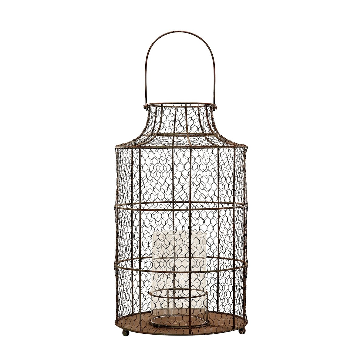 Amazon.com: Lazy Susan 594040 Chickenwire Hurricane - Small: Home ...