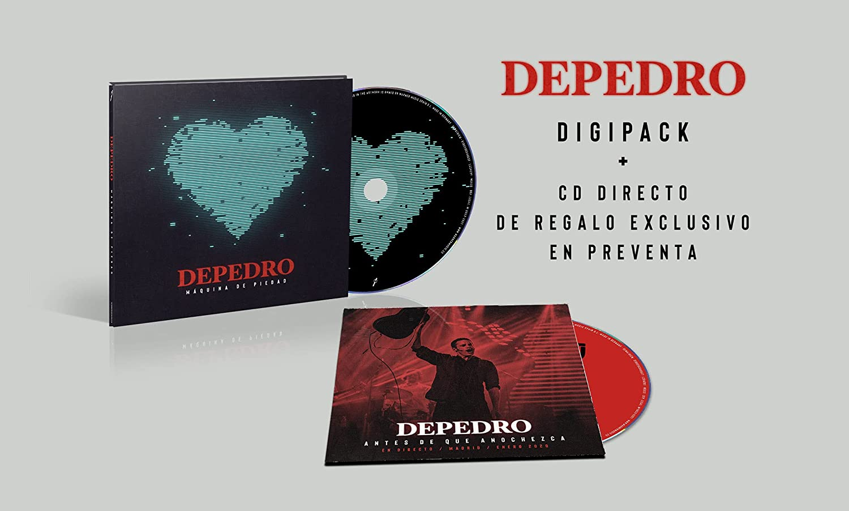 Depedro - Máquina De Piedad (Cd + Cd Directo) Edición Firmada