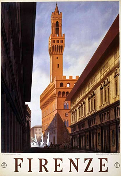 Amazon.com: The Museum Outlet - Firenze - Canvas Print Online Buy ...