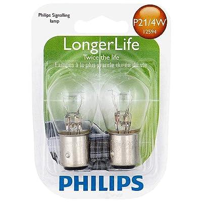 PHILIPS P21/4WLLB2 Longer Life Mini Bulb: Automotive