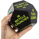 Series 8 Fitness Exercise Dice 1st Edition Easy...
