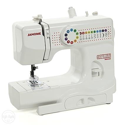 Para niños con diseño de lujo de la máquina de coser Janome SewMini ** New