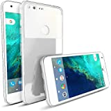 MTT Google Pixel Case – Premium Shock Absorption Hard Back Case Cover (Crystal Clear)