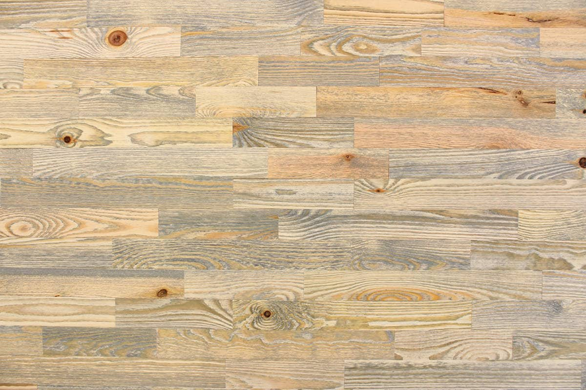 wodewa Wooden Wallcovering Vintage Style Used Look I 1m² Colorful ...