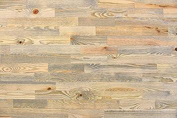 Wodewa Holz Wandverkleidung Vintage Optik I Kiefer V001 I 1m² Nachhaltige  Echtholz Wand Paneele