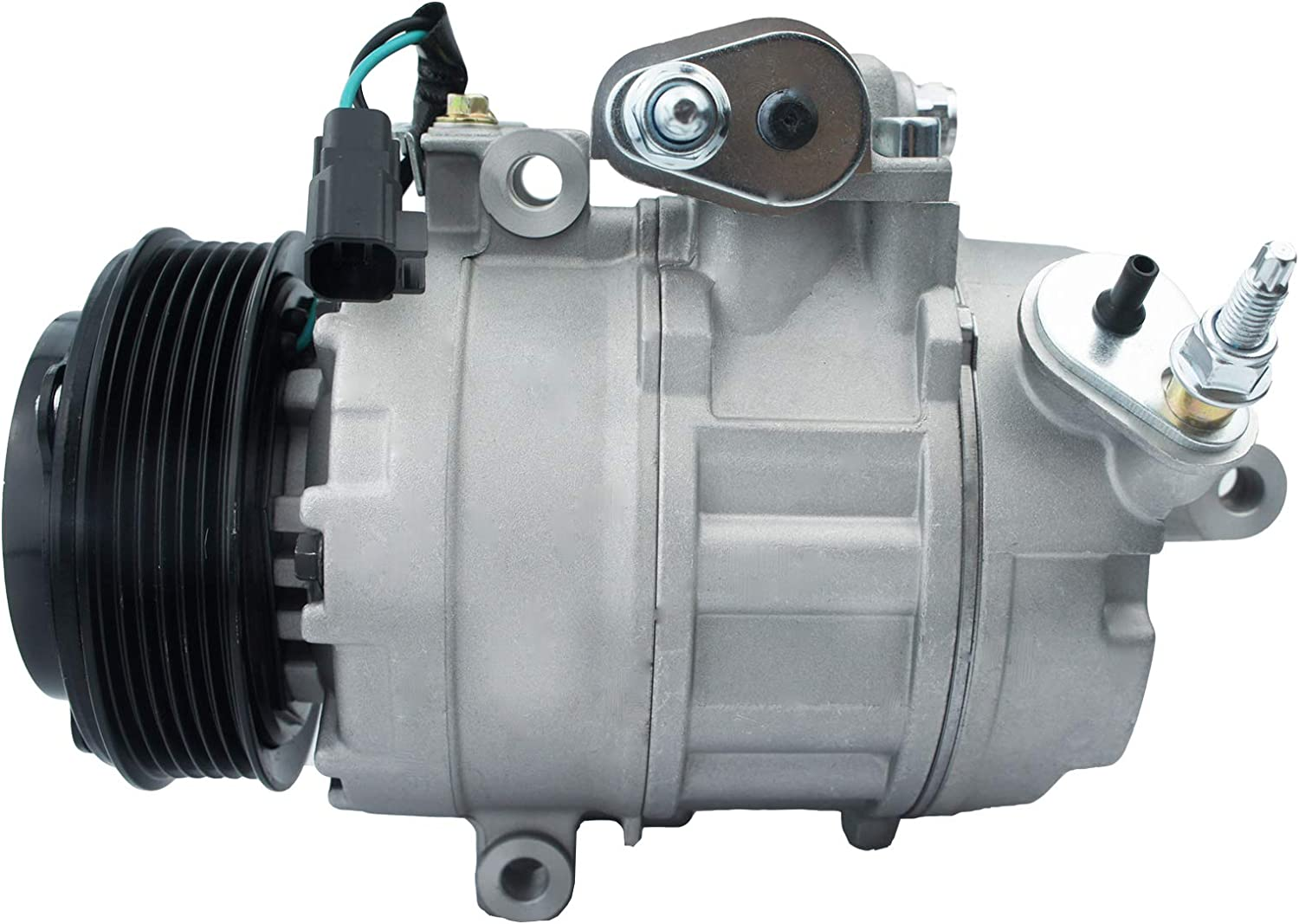 Vooviro Excellent New 1pc AC A//C Compressor and Clutch Compatible with 2011-2016 Ford Explorer 3.5L Durable