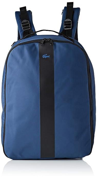 Lacoste - Nh2666tk, Mochilas Hombre, Azul (Blue Wing Teal), 12x42.5x31.5 cm (W x H L): Amazon.es: Zapatos y complementos